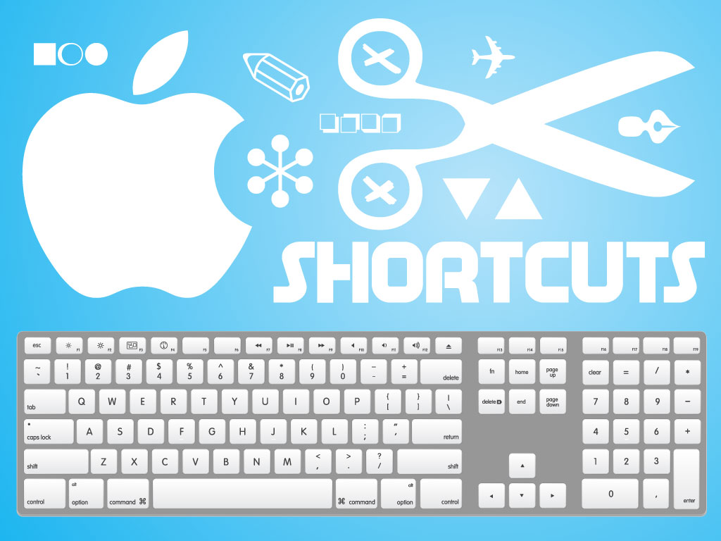 This accurate graphic of a Mac keyboard is a huge time saver for ...