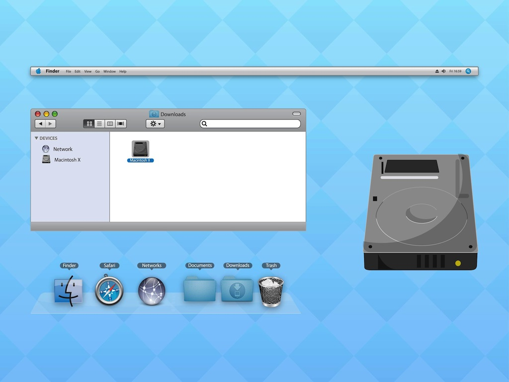 Mac OS Interface