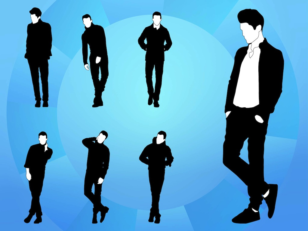 male models rh vectorfree com Vector Man Vector Man