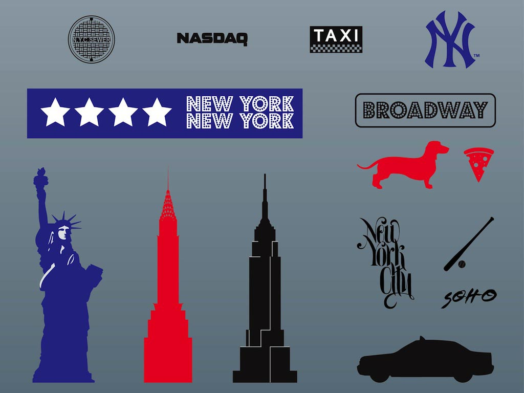 New york icons buycottarizona Image collections