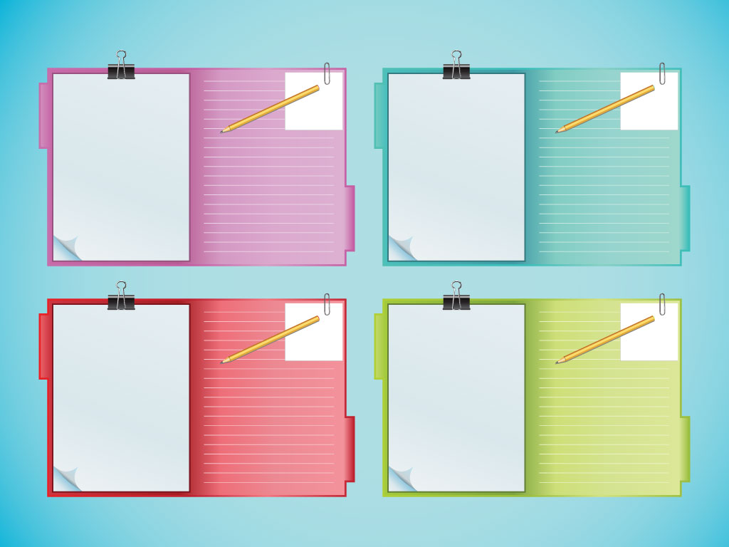 Notebook Clipboards