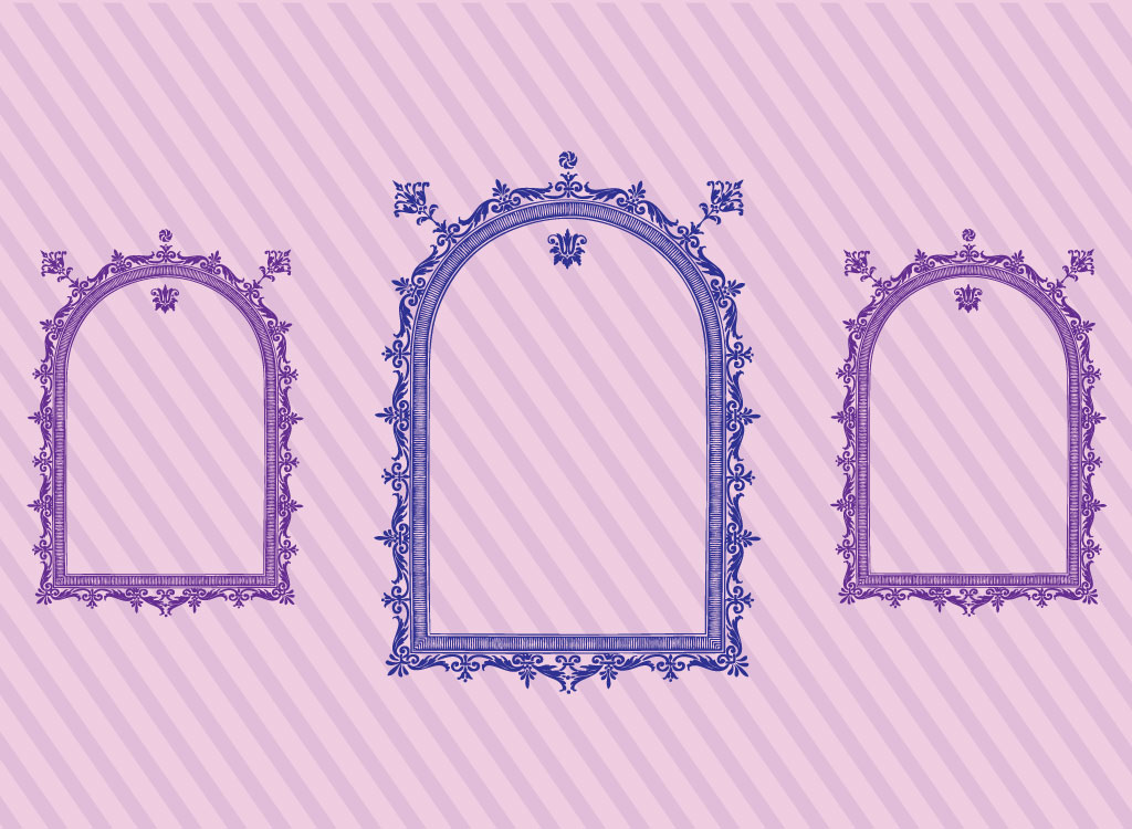 Ornate Antique Frames