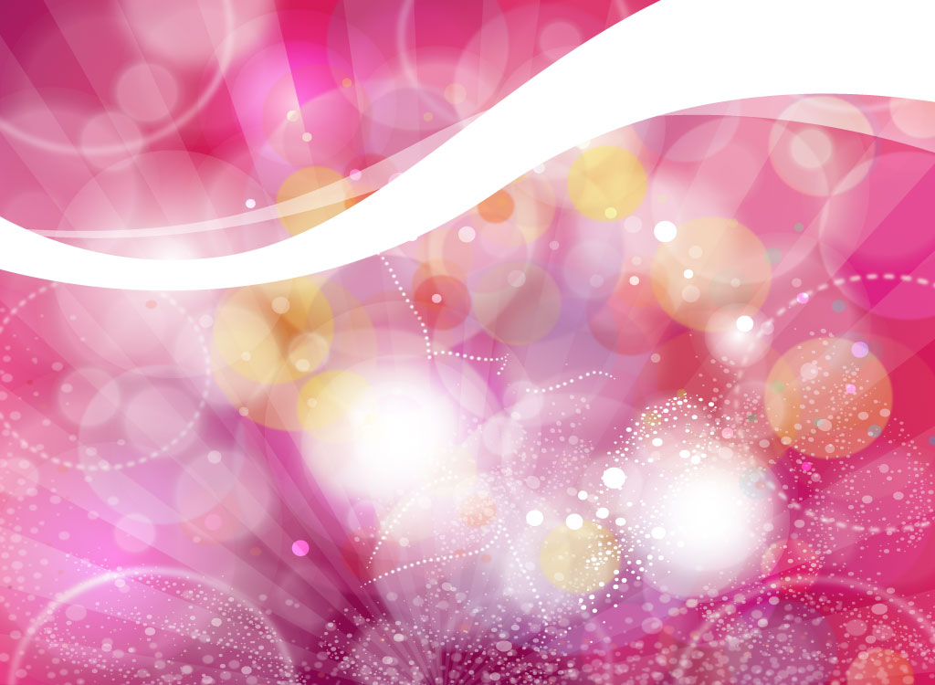Pink Abstract Light Background