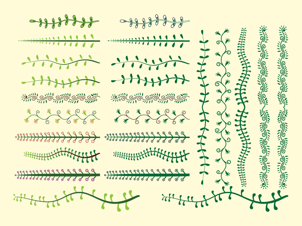 Plant Vector Brushes