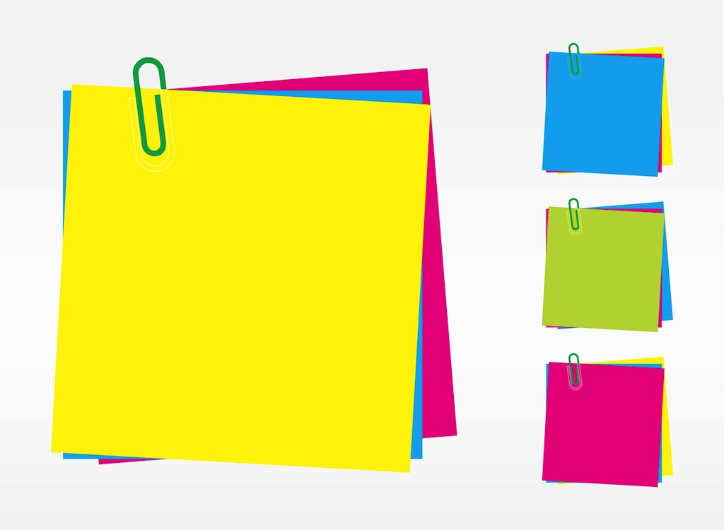post it notes rh vectorfree com post sticky note vector post it note vector image