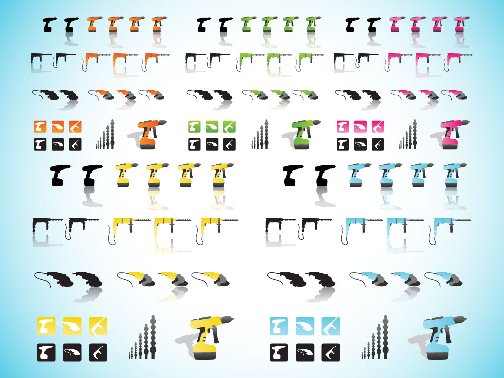 Power Tool Icons