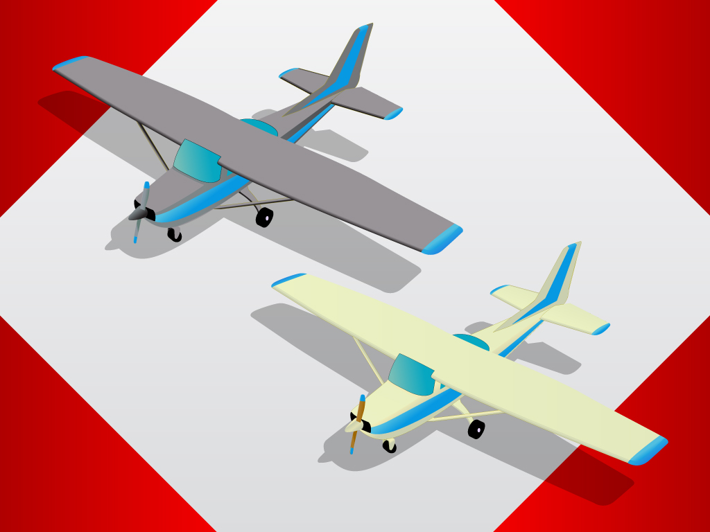 Free Airplane Vectors