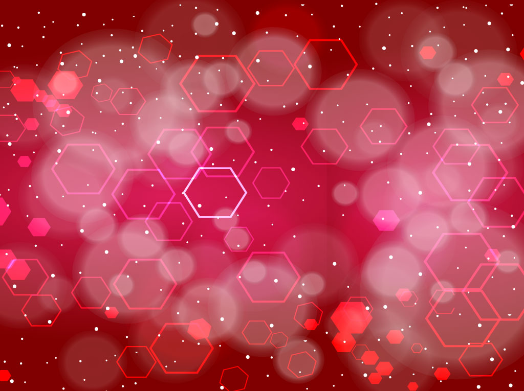 Red Technology Vector Design