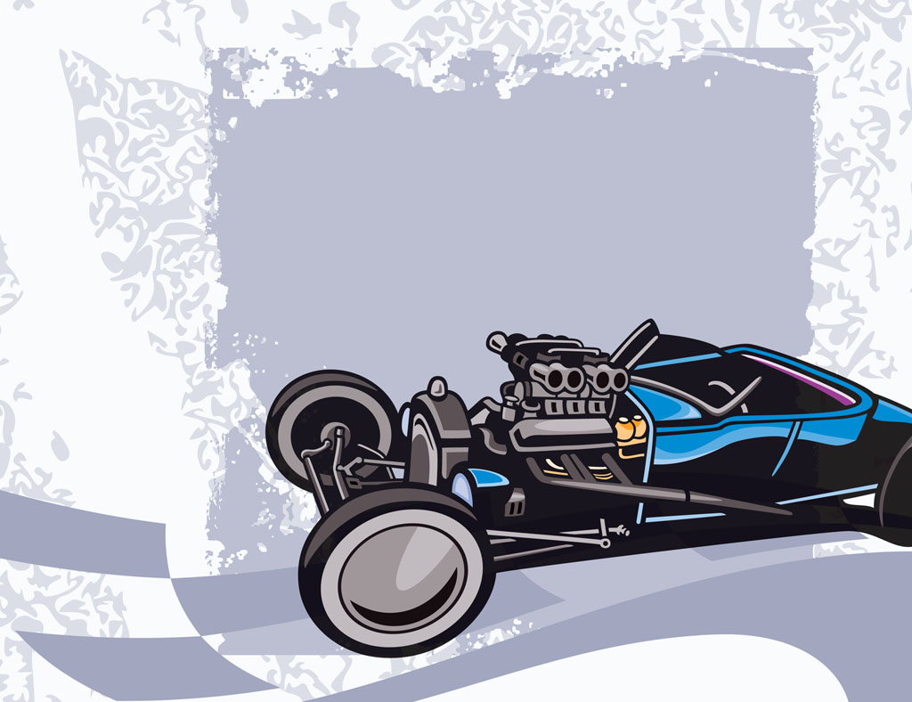 Roadster Vector Design