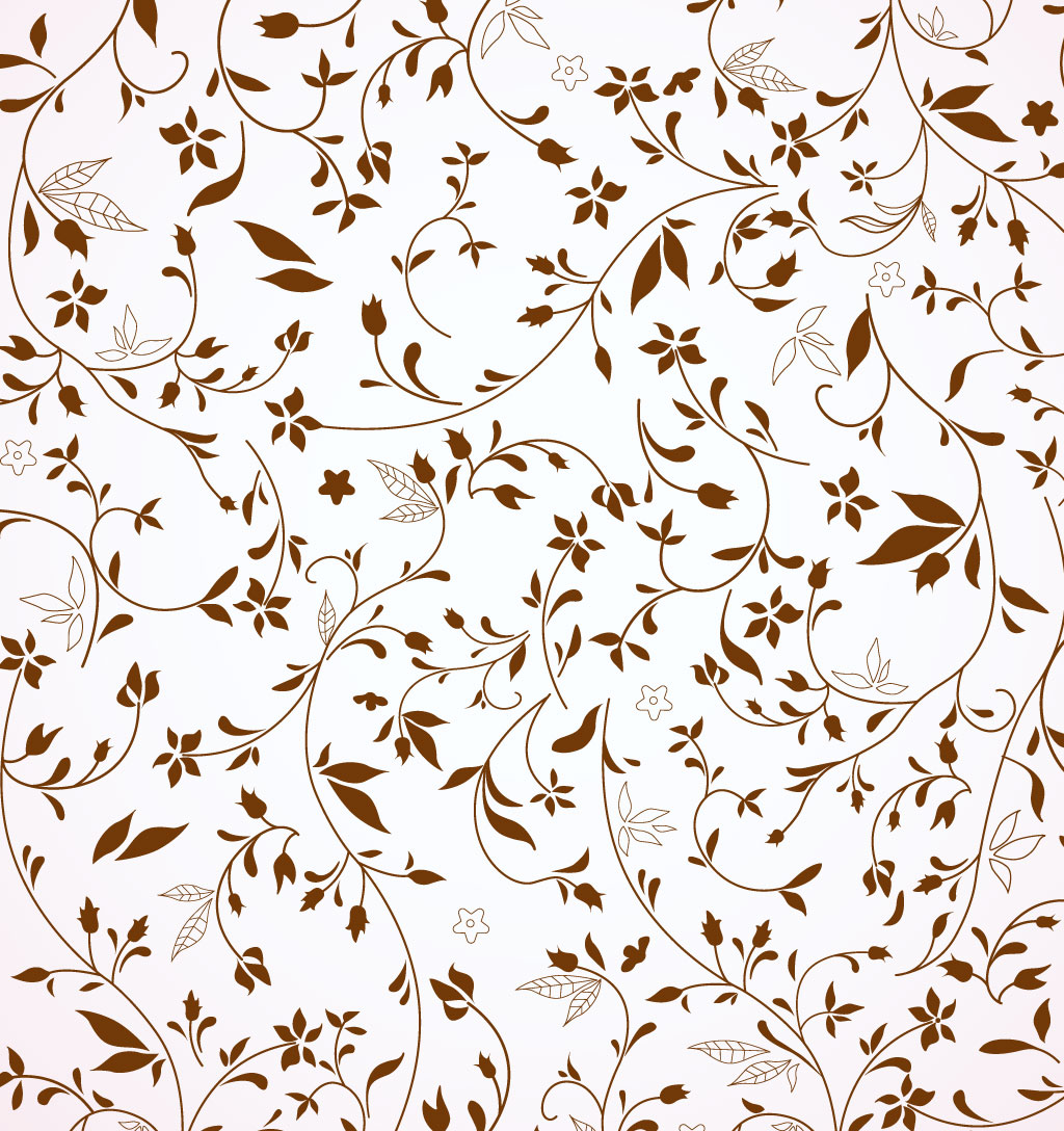 Rustic Flower Pattern