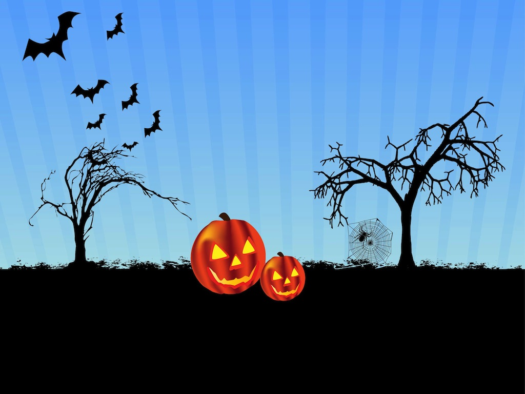 Scary Halloween Vector