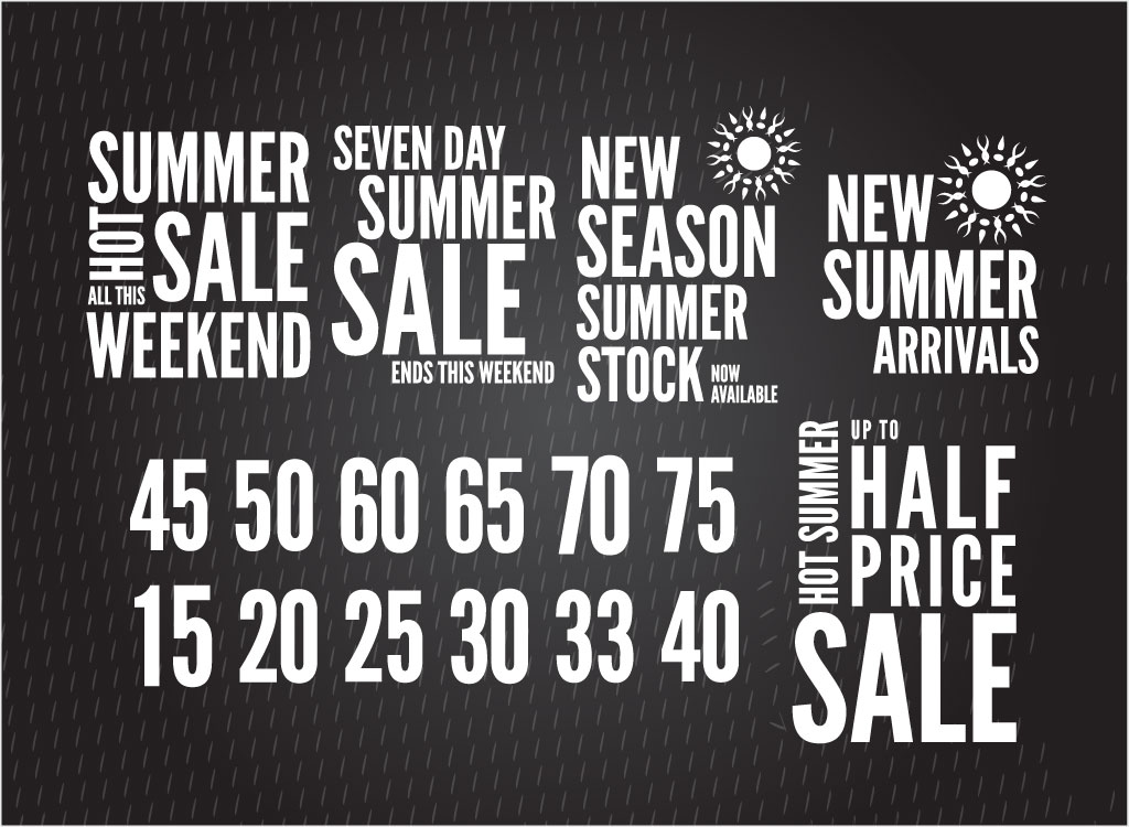 Seasonal Promotion Vector Pack