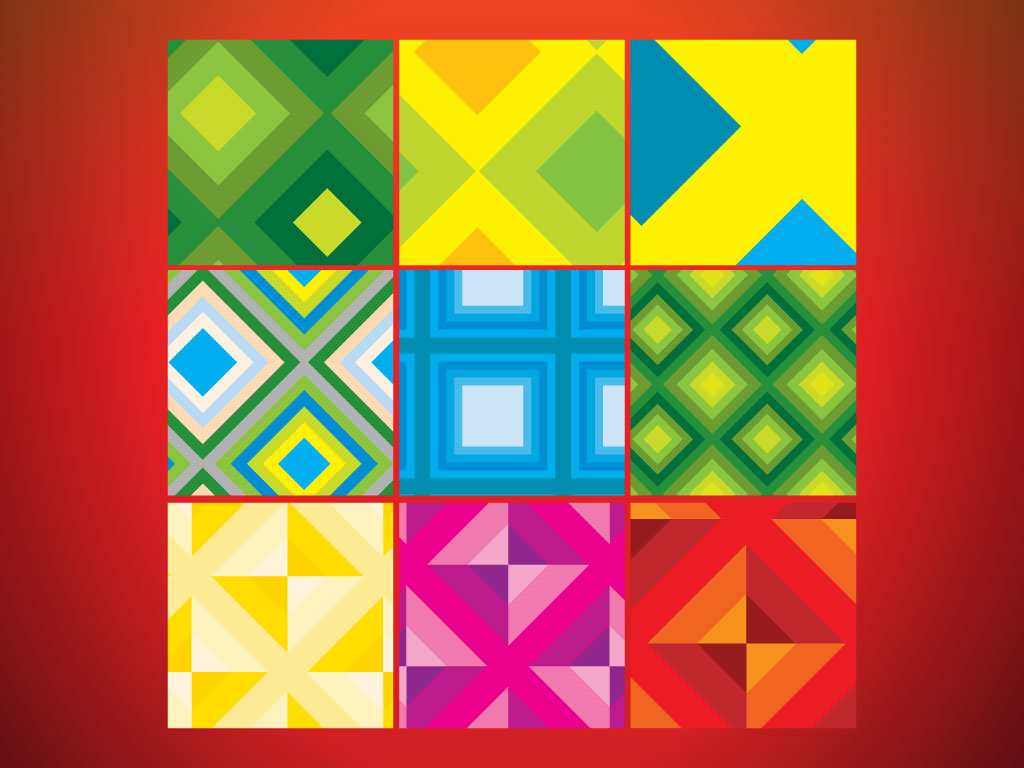 Seventies Background Patterns