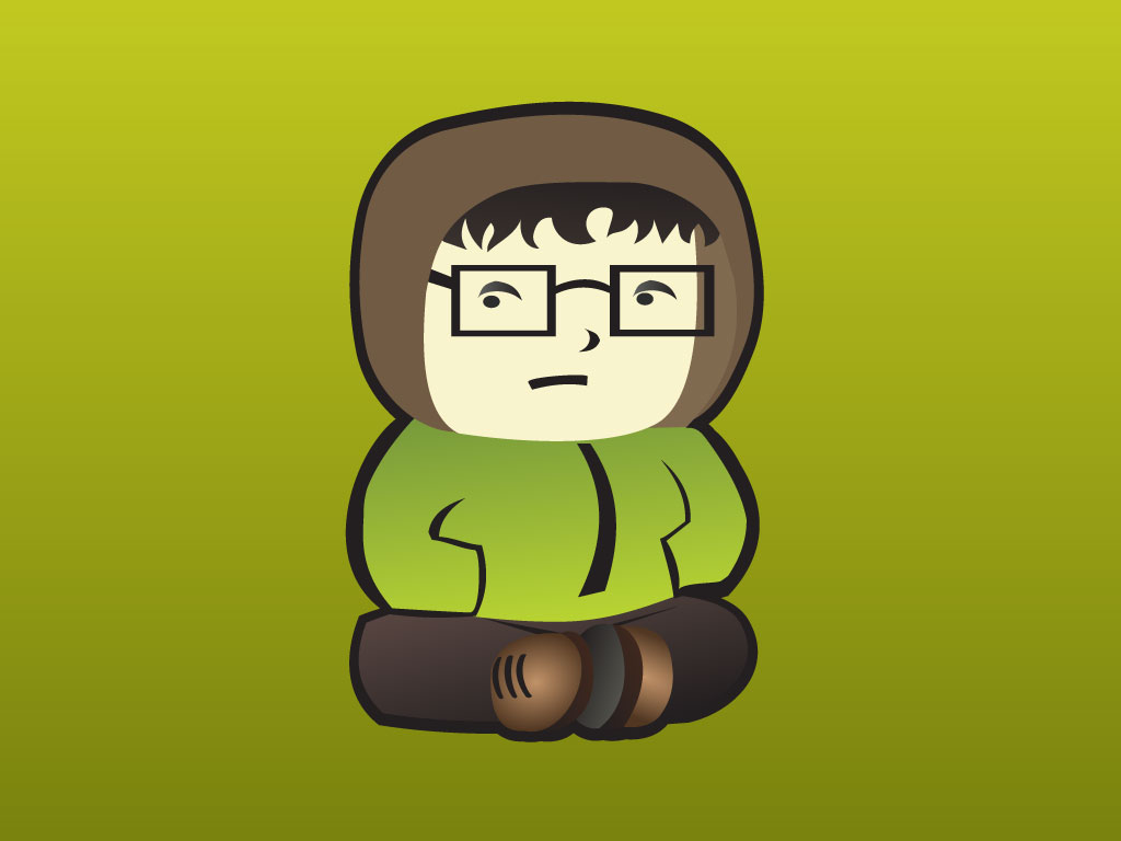 Sitting Boy Cartoon