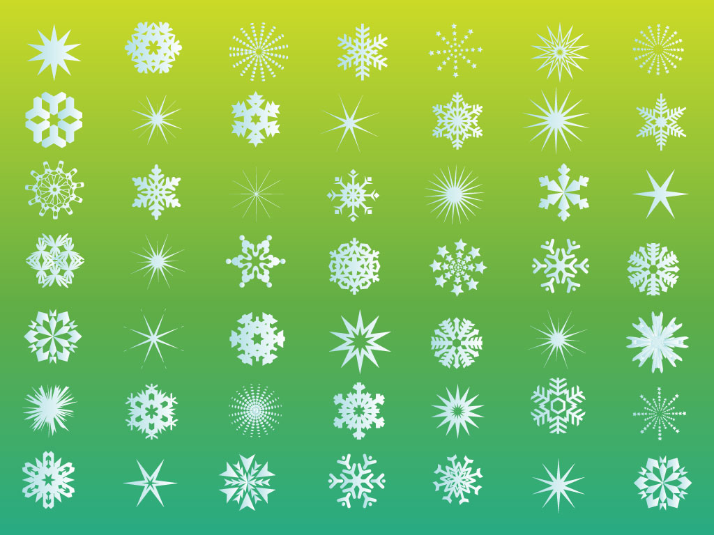 Marvellous snow flake vector photos