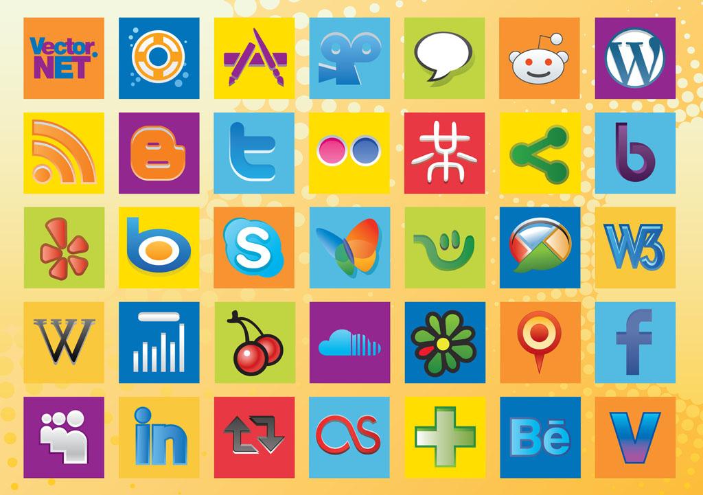Dating social network sites logos