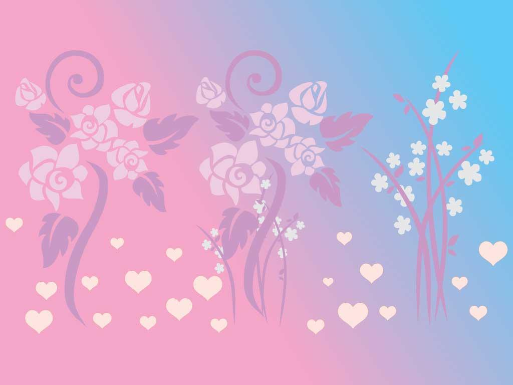 illustration soft floral - photo #4