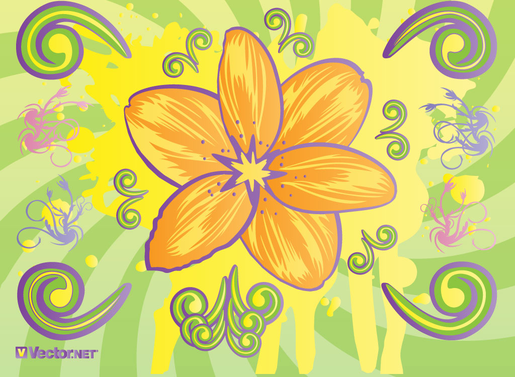 Spring Flower Art
