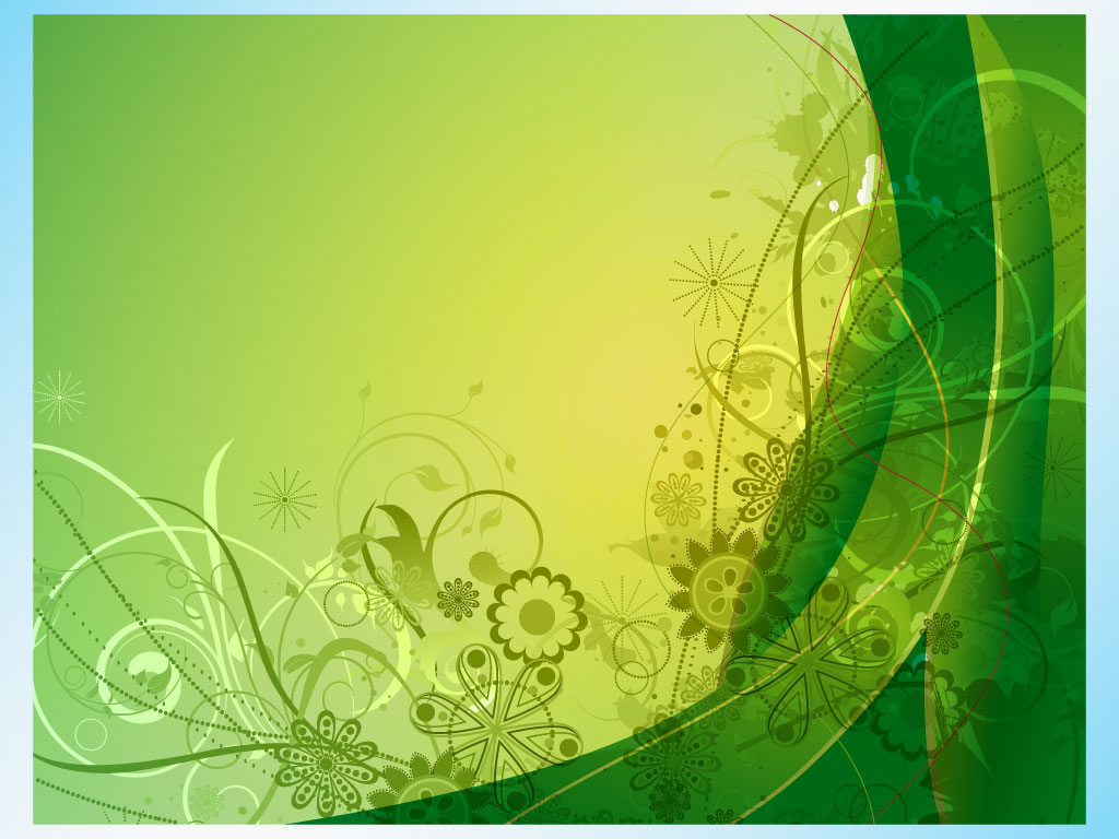 green spring background - photo #40