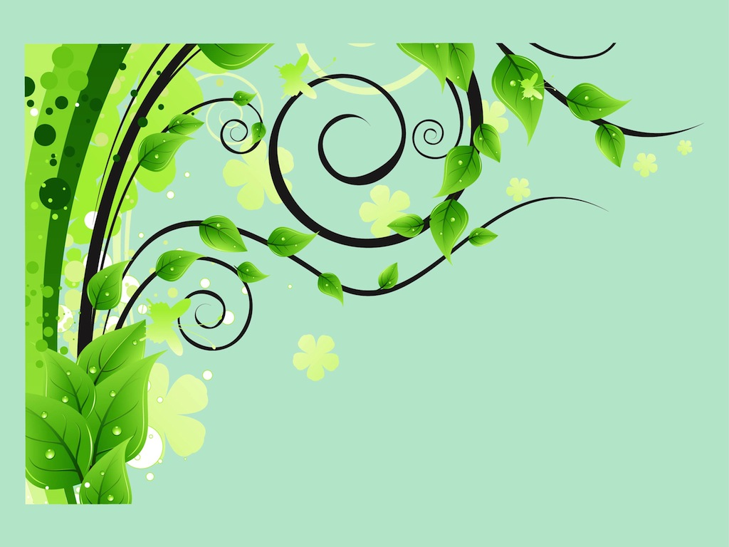 Spring Vector Decorations