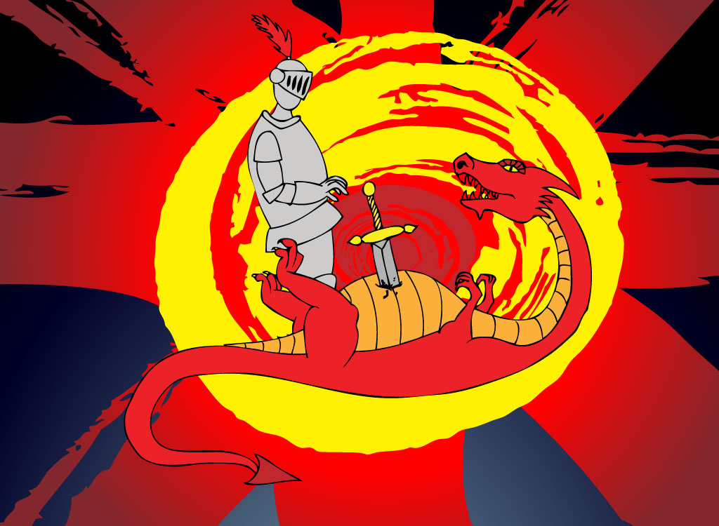 st George Wallpaper st George Dragon