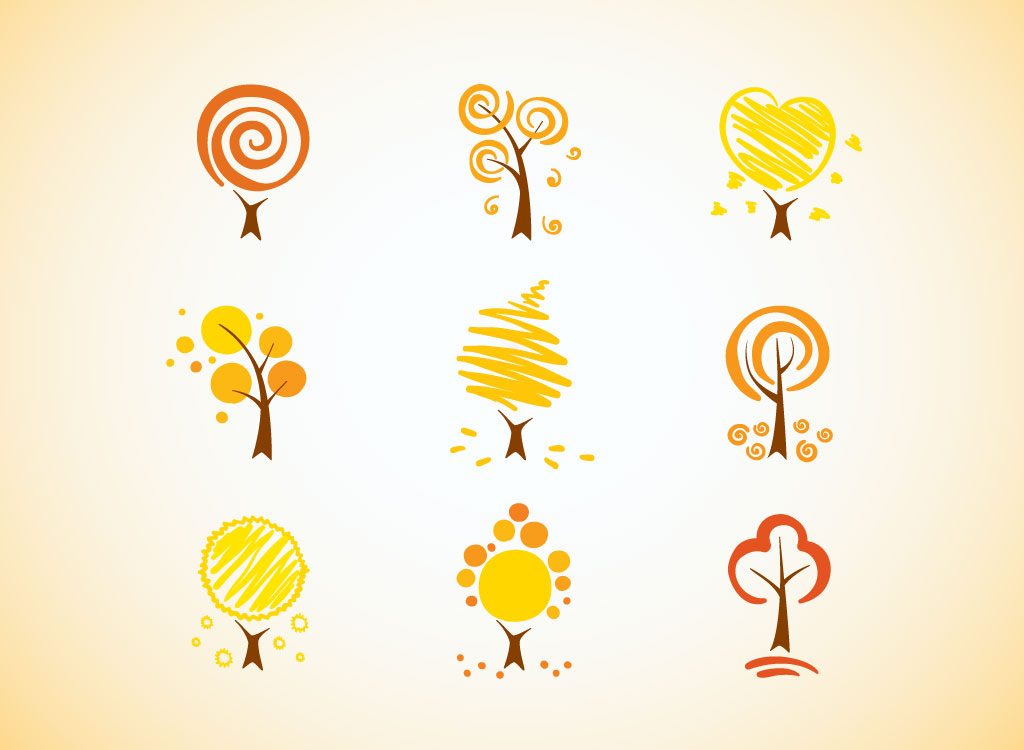 Stylized Tree Icons
