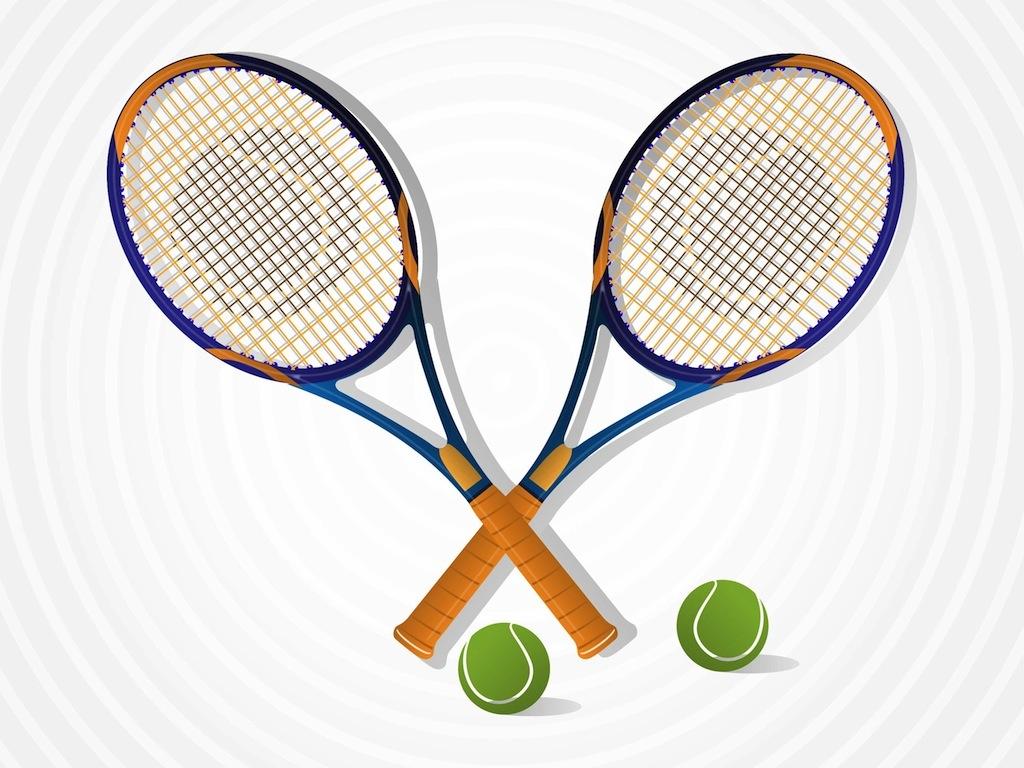 tennis rackets rh vectorfree com crossed tennis rackets logo crossed tennis rackets logo
