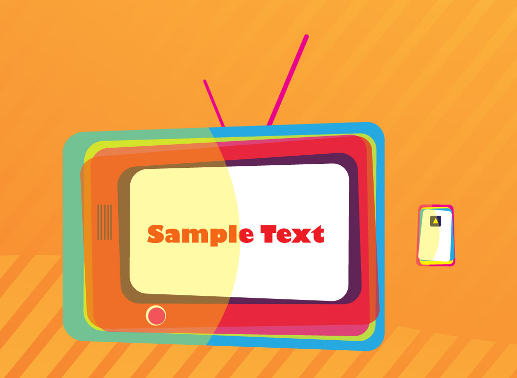 TV Frame Vector