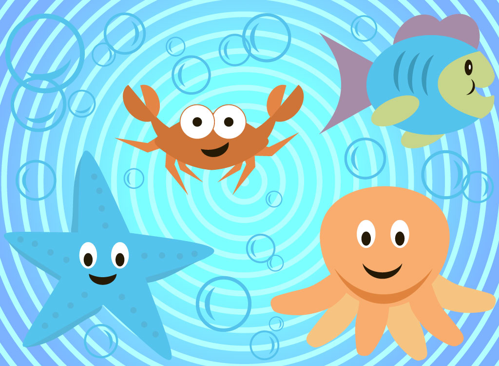 Undersea Cartoon