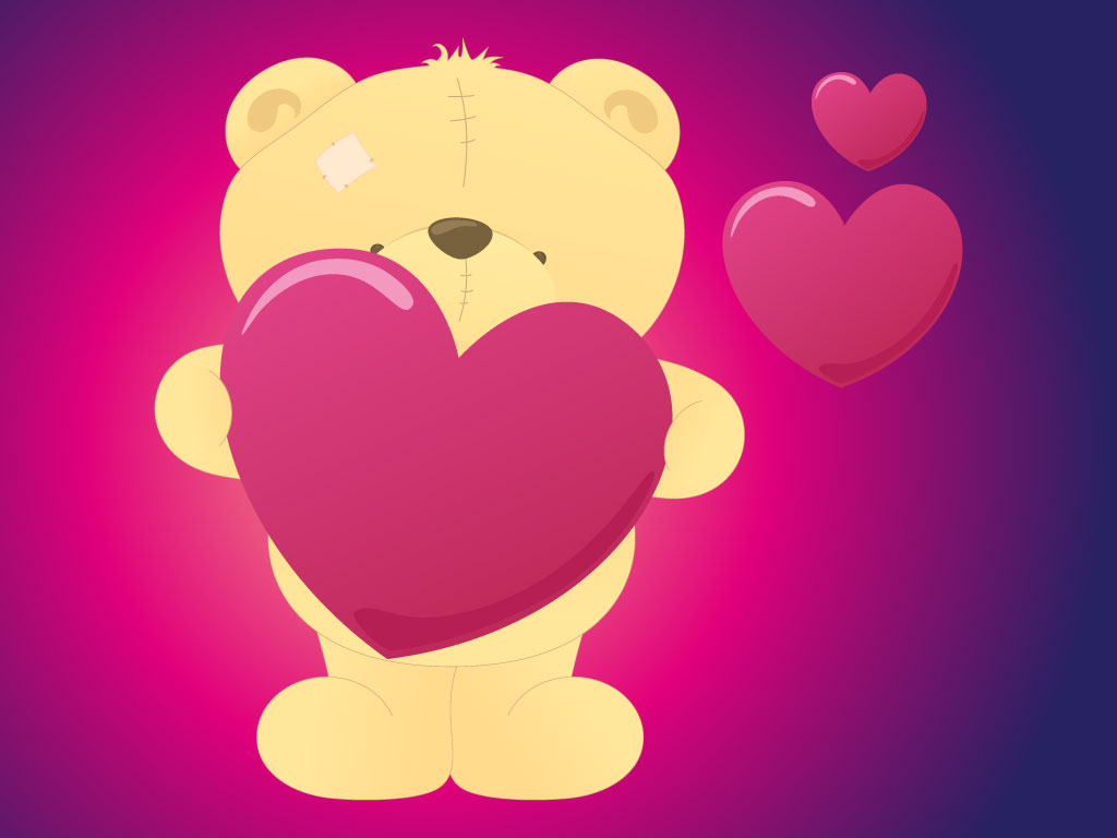 Valentine Teddy Bear – Teddy Bear Valentines Day Card