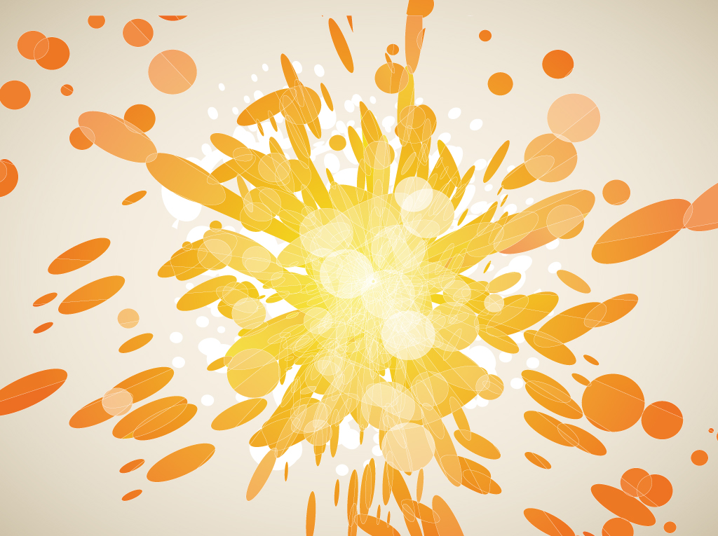 Vector Burst Background