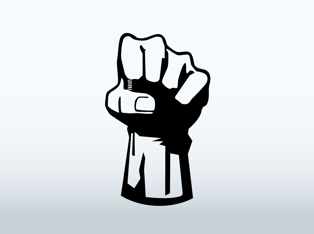 Vector Fist Icon