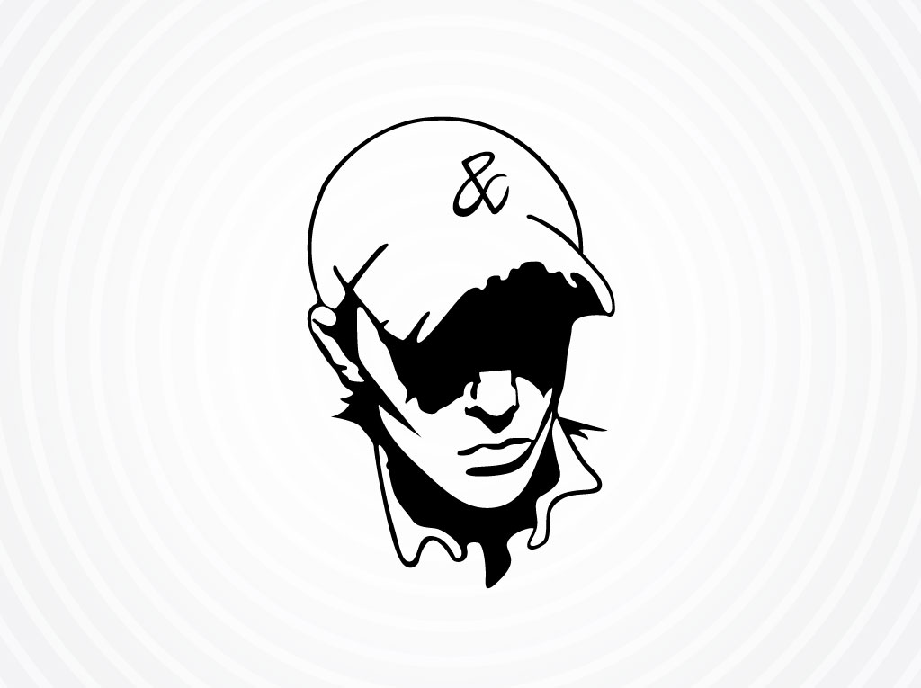 Vector Man With Cap