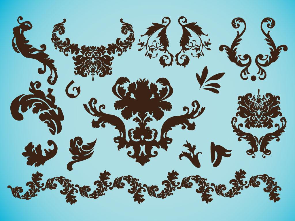 Victorian Design victorian clip art pack