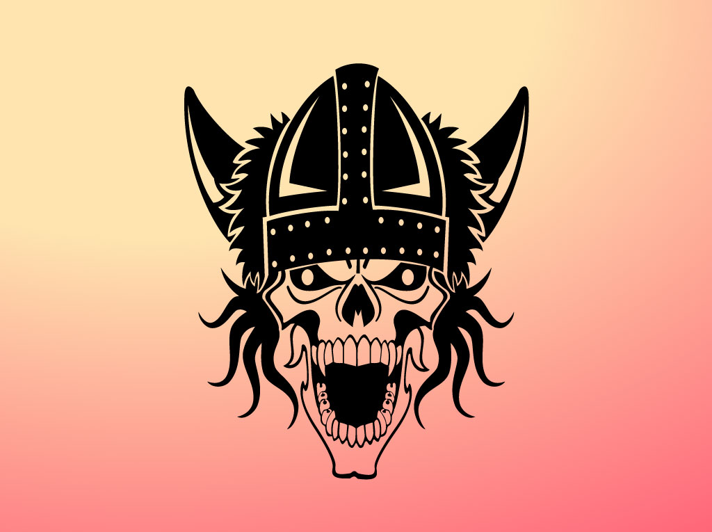 Viking Skull Graphic