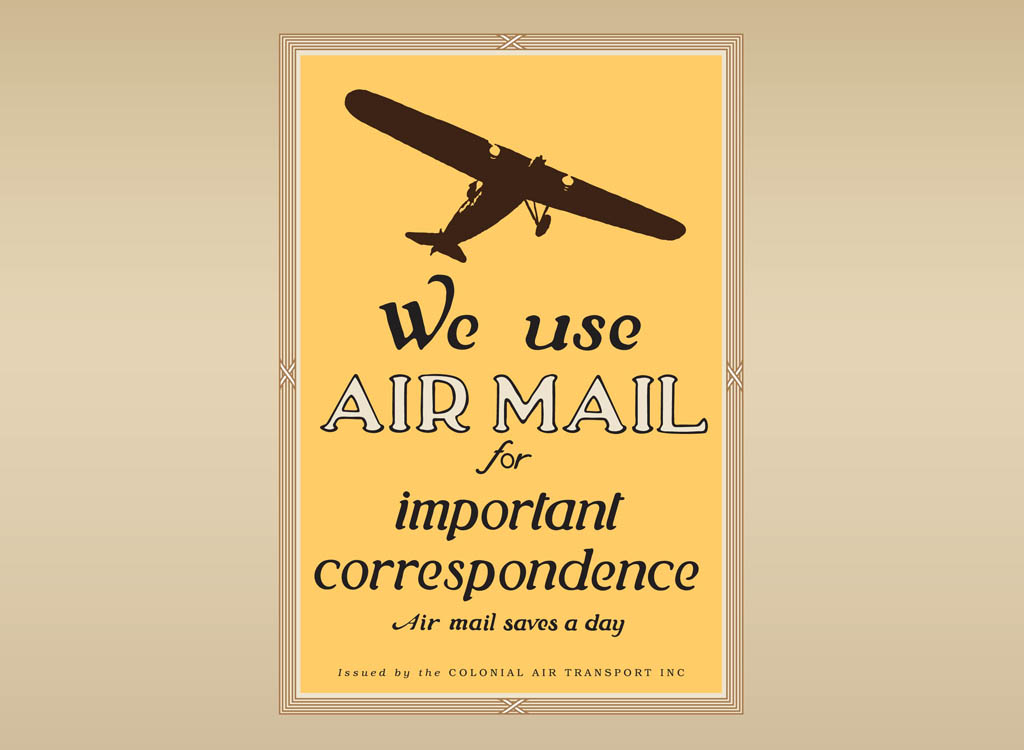 Vintage Mail Vector