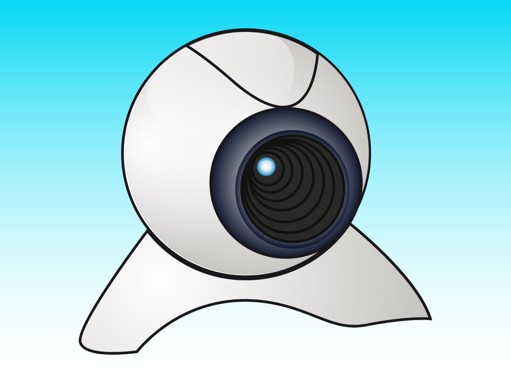 Webcam Vector Drawing