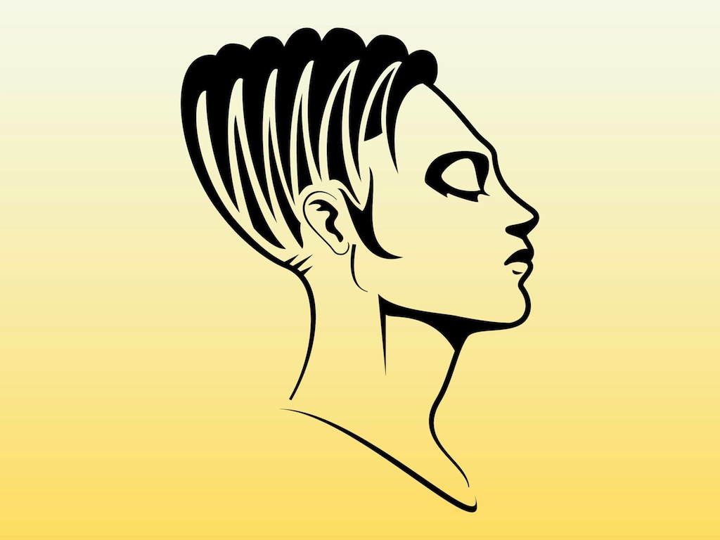 Woman Face Profile